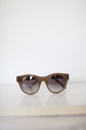 Elizabeth and James Lunettes de soleil rondes ocre