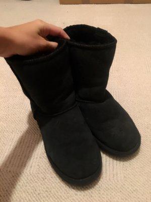 Original Emu Boots in schwarz