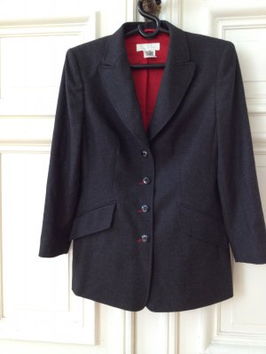 Original Escada Blazer Jacke Jacket chic anthrazit 40 Business boss