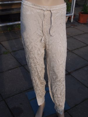 original Escada Hose, Made in Germany, Größe 36, beige, silk