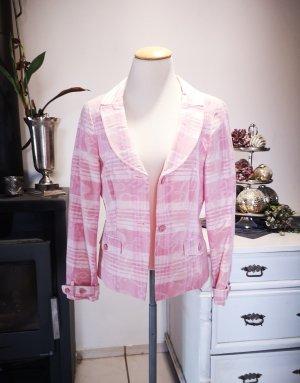 Original Escada Jacke Gr 36 rosa Blazer edel elegant Feier Hochzeit rose Sport