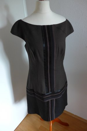 Original Escada Kleid braun schwarz Gr.36 TOP