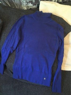 Esprit Jersey de cuello alto azul