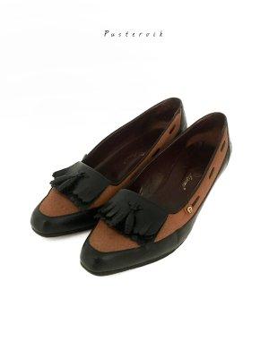 Original Etienne Aigner Vintage Lederschuh Loafer Halbschuhe Leder Pumps Schuhe