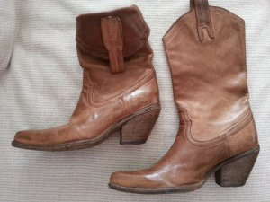 Western Boots brown leather