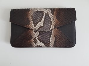Original Fendi 2jours Envelope Clutch Python   Zustand A/A+