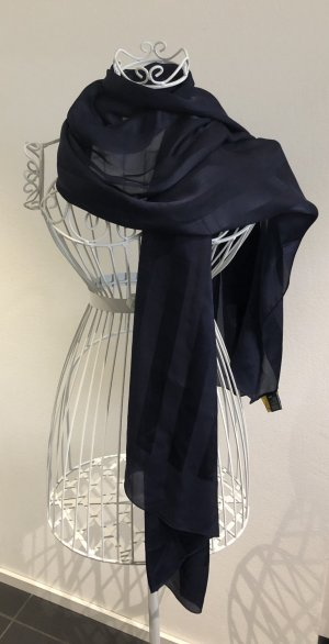 Fendi Silk Cloth dark blue silk