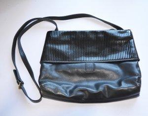 Original FENDI Vintage Tasche Bag Leder Lackleder crossbody 30x20x4 clutch