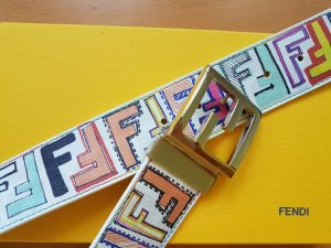 Fendi Reversible Belt multicolored