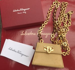 Original FERRAGAMO Designer Mini Tasche  Bag Authentic nummeriert