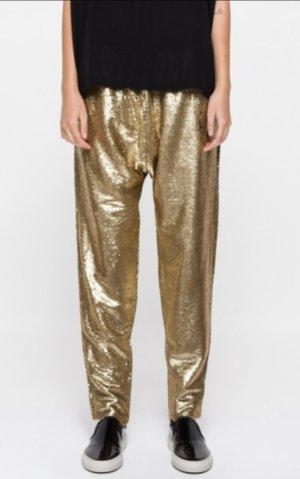 Original Finders Keepers Dreamwaver Hose Gold Sequin