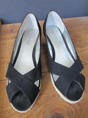 Flip*flop Sandalo con plateau nero-beige