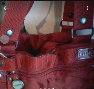 Fossil Handbag red