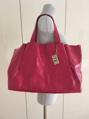 Original Francesco Biasia Tote Bag, Hot Pink, mit Innentasche, wie neu