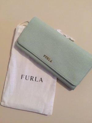 Original FURLA Geldbeutel in Pastell mint