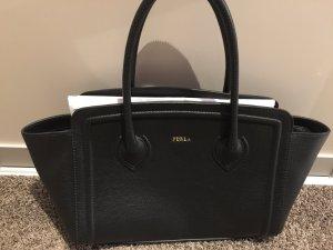 Original Furla Handtasche in schwarz