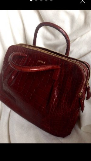 Original Furla Handtasche Leder