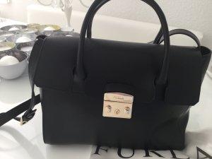 Furla Crossbody bag black-gold-colored