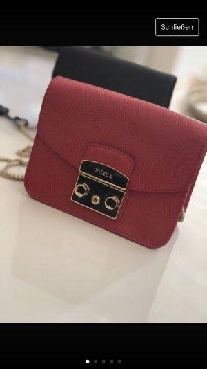 Original FURLA METROPOLIS Tasche in Rot