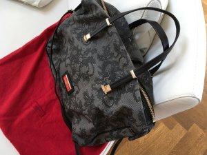 Shoulder Bag multicolored textile fiber