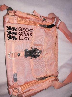 George Gina & Lucy Bolsa de hombro salmón