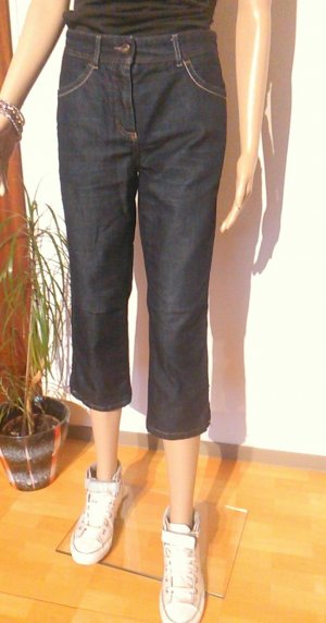 Original GERRY WEBER Edition 3/4 Jeans Caprijeans Hose Gr 36-38 blau wie NEU