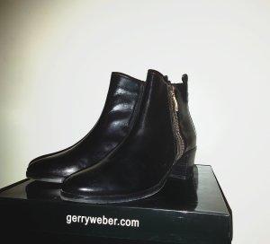 ORIGINAL Gerry Weber Stiefeletten Ankle Boots Gr. 40 schwarz