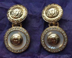 Original Gianni Versace Medusa Ohrclips/Ohrringe