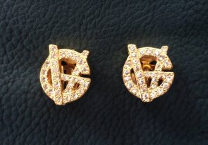 Original Gianni Versace Ohrclips/ Ohrringe