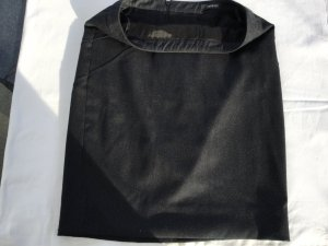 Gianni Versace Wool Skirt anthracite wool