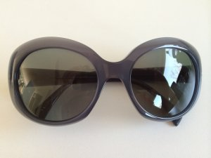 Armani Round Sunglasses slate-gray-dark grey