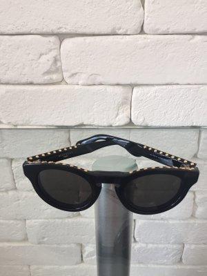 Givenchy Occhiale da sole rotondo nero