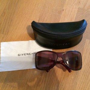 Original Givenchy Sonnenbrille dunkelrot