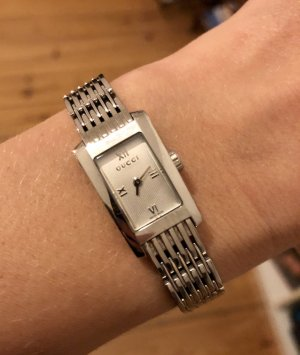 Gucci Analog Watch silver-colored-oatmeal stainless steel
