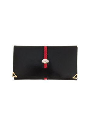 Original GUCCI 80er Jahre Vintage Geldbeutel Portmonee Leder Italy Leather Wallet Luxus Marke