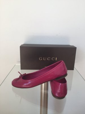 Gucci Ballerinas raspberry-red