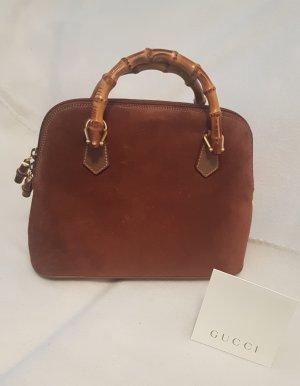 Original GUCCI Bamboo Leder Handtasche