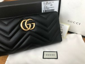 Original Gucci Börse Damen GG Wallet Schwarz Neu NP: 730€
