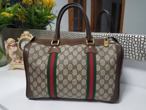 Original  Gucci  Boston Tasche vintage GG canvas