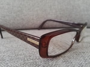 Gucci Glasses gold-colored-brown synthetic material