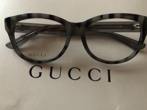 Gucci Gafas gris-marrón grisáceo