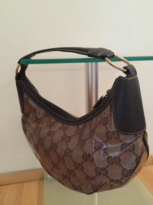 Original Gucci Crystal Halfmoon Hobo