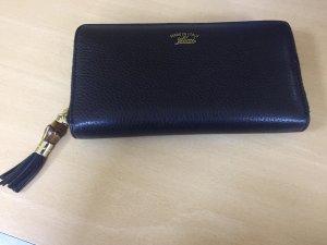 Original Gucci Damen Geldbörse Portemonnaie schwarz mit Rechnung