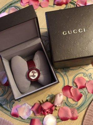 Gucci Watch dark red