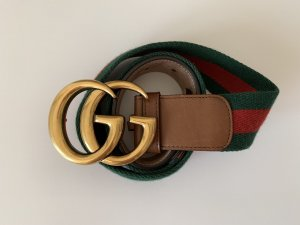 Gucci Canvas Belt multicolored leather