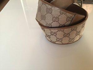 Gucci Cintura di pelle beige