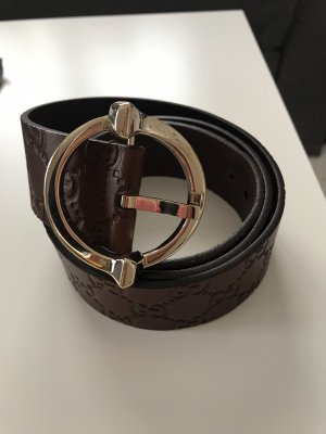 Gucci Leather Belt brown