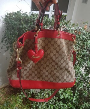 Original Gucci Handle Valentine Bag in einem super Zustand