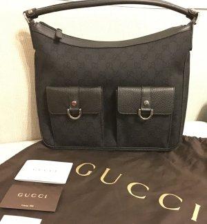 Original Gucci Handtasche, GG Canvas, Schultertasche