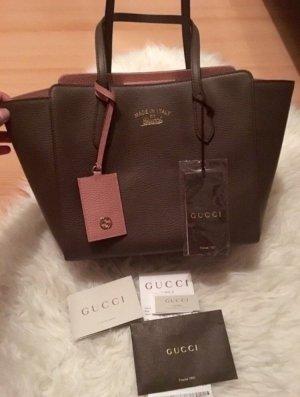 Gucci Borsetta color oro rosa-marrone chiaro